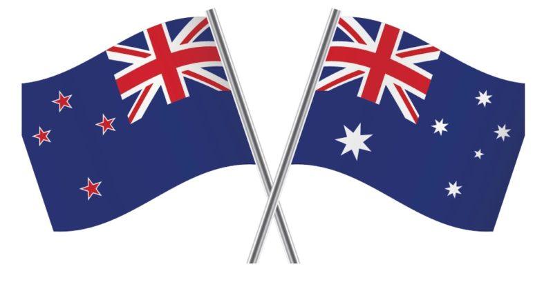 ニュージーランドとオーストラリア