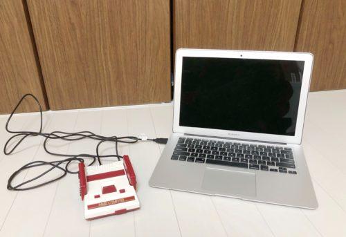 MACとファミコンミニ