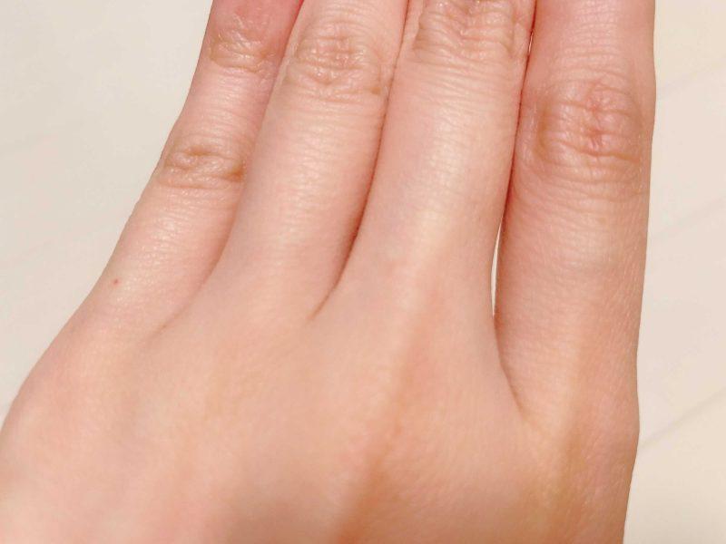 指の毛への効果
