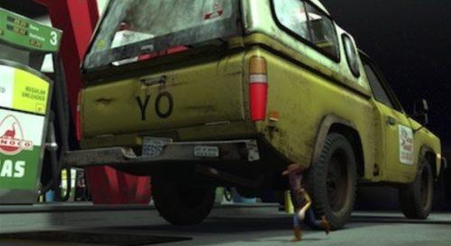 ピザプラネットのトラック