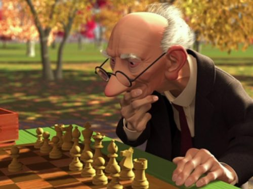 ゲーリーじいさんのチェス