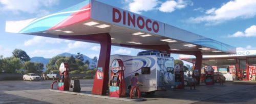 ガソリンスタンド DINOCO