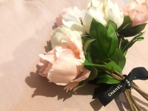 ②花束を作る