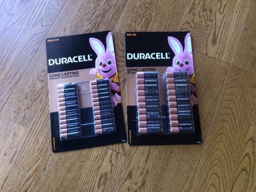 デュラセル 乾電池