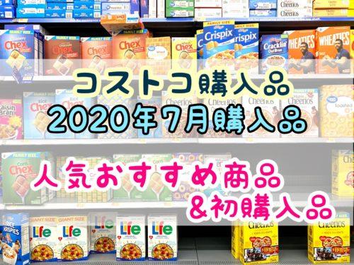 【コストコ購入品】2020年7月のコストコ購入品15品紹介!人気おすすめ商品&初購入品