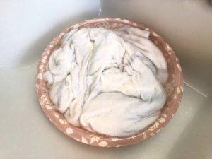 ジェラートピケの洗い方手順